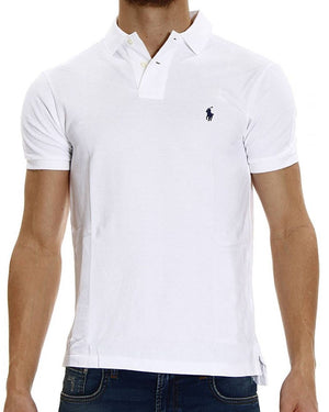 Polo Ralph Lauren Polo Shirt White Custom Fit