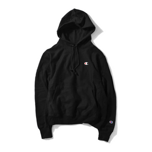 Champion Reverse Weave Pullover Hoodie Black