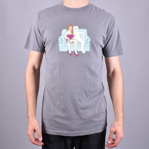 RipNDip Inside Activities T-Shirt Grey Reactive Ink
