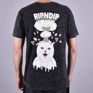 RipNDip Mind Blown Black Washed Tee