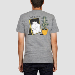 RipNDip Family Reunion T-Shirt Ash Grey