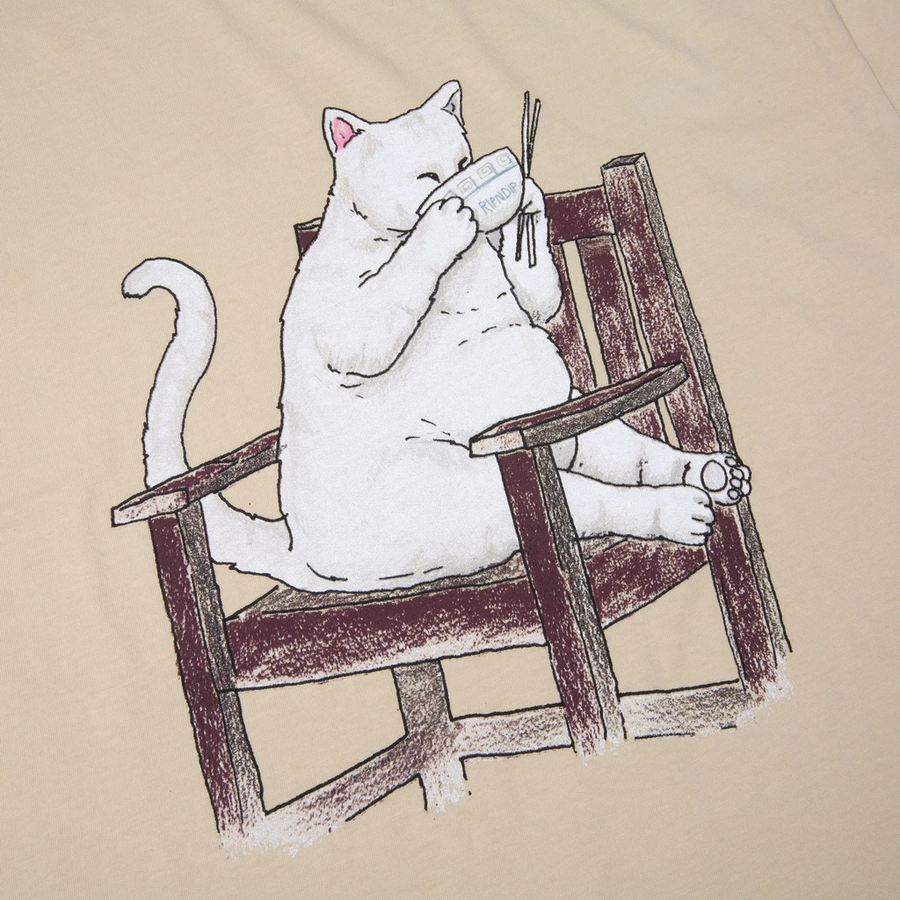 RipNDip Take Out T-Shirt Tan