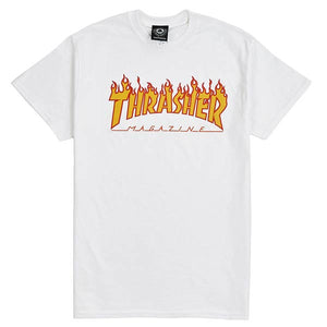 Thrasher Flame T-Shirt White