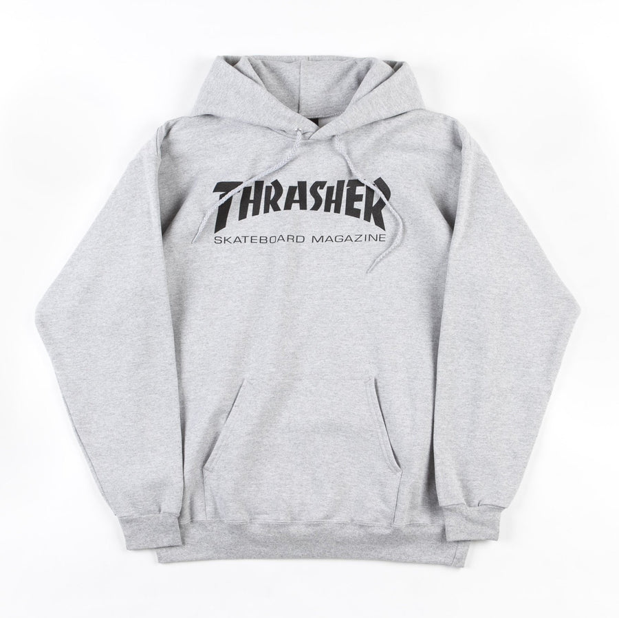 Thrasher Skate Mag Hoodie Heather Grey