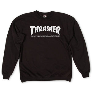 Thrasher Skate Mag Fleece Crewneck Sweater Black