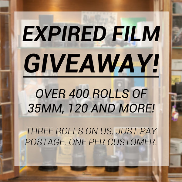 Expired Film Giveaway!