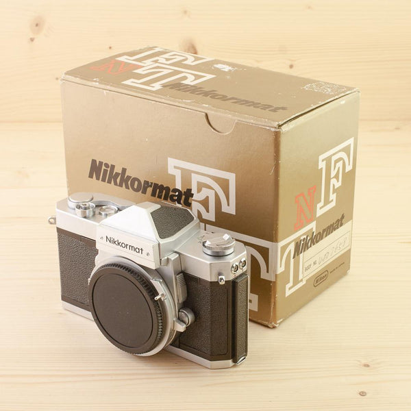 Nikkormat FTn Hands On - Ray Goodwin