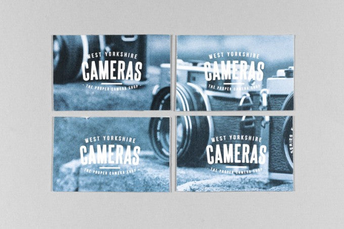 West Yorkshire Cameras Business Cards Back