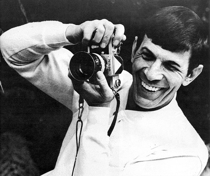 West Yorkshire Cameras Celebrity Photographers Nimoy