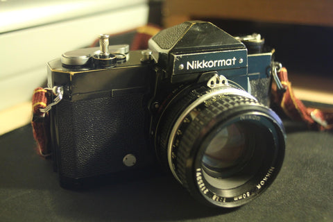 Nikkormat FTn Front View - Ray Goodwin