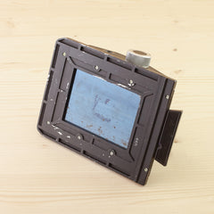 4x5 MPP 6x9 Roll Film Holder Exc
