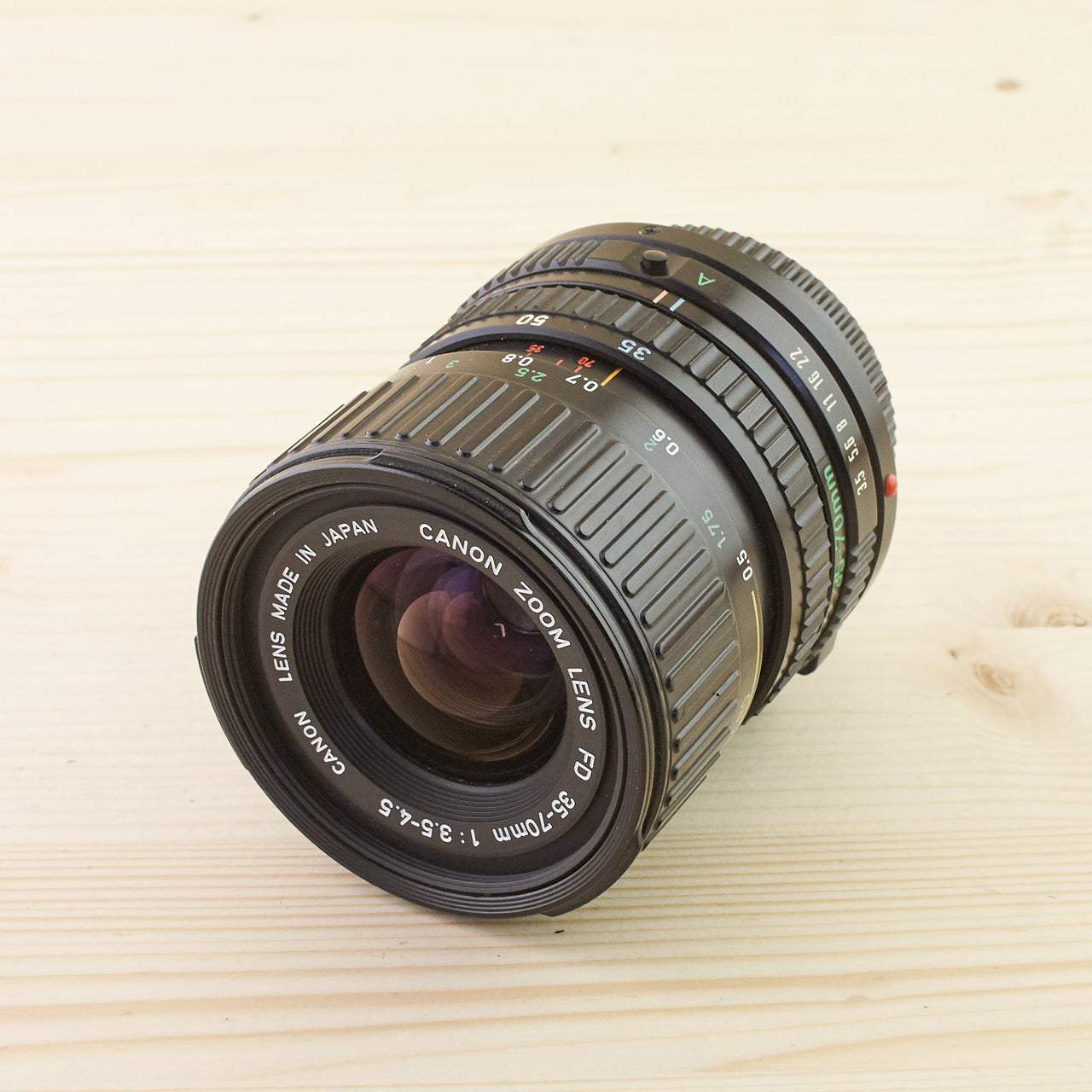 Canon FD 35-70mm f/3.5-4.5 Exc - West Yorkshire Cameras