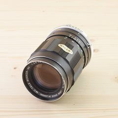 Minolta MD 135mm f/3.5 MC Tele Rokkor-QD Exc+ in Case - West Yorkshire Cameras