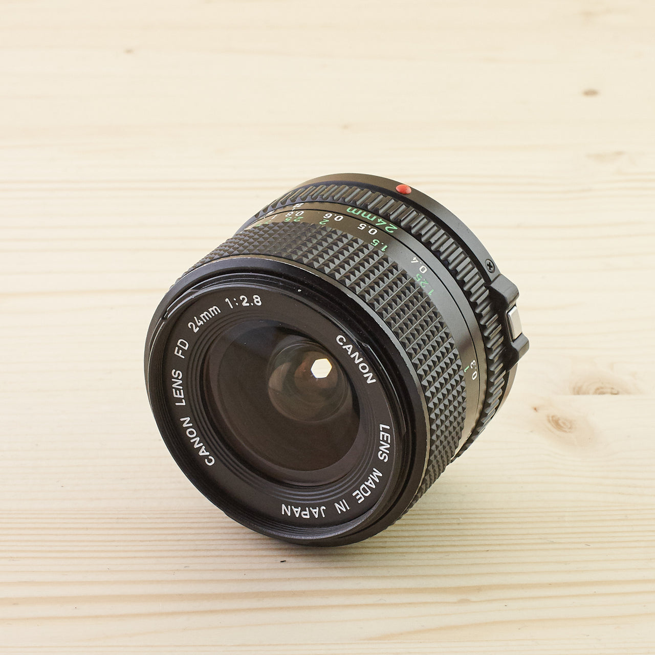 Canon FD 24mm f/2.8 Exc - West Yorkshire Cameras