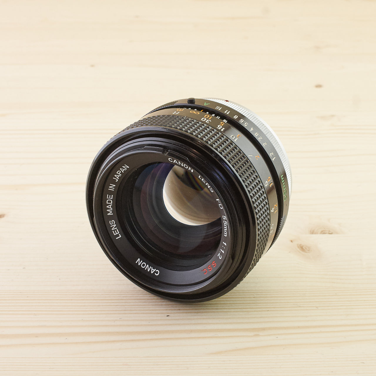 Canon FD 55mm f/1.2 S.S.C Exc - West Yorkshire Cameras