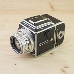 Hasselblad 503CX Chrome w/ 80mm f/2.8 C A12 Exc