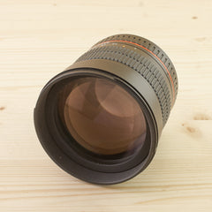 Canon EF fit Samyang 85mm f/1.4 Exc+ Boxed - West Yorkshire Cameras