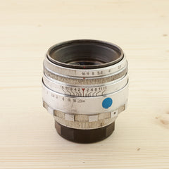 LTM fit Helios 44-2 58mm f/2 Chrome Avg