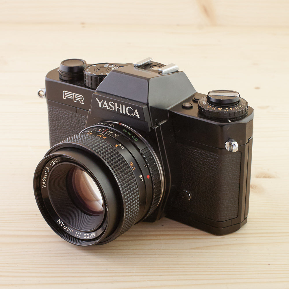 Yashica FR w/ 50mm f/1.7 Exc - West Yorkshire Cameras