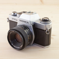 Yashica FR2 w/ 50mm f/2 Avg - West Yorkshire Cameras