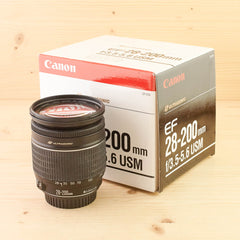 Canon EF 28-200mm f/3.3-5.6 USM Exc Boxed
