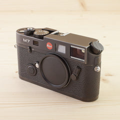 Leica M7 0.72 Black Exc Boxed - West Yorkshire Cameras
