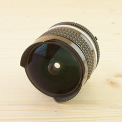 Nikon Ai 16mm f/2.8 Fisheye Exc+