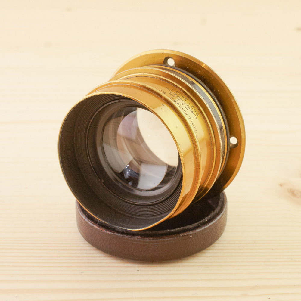 Taylor Taylor & Hobson Cooke 7.6in f/6.5 Series III Brass Lens Exc+
