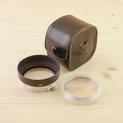 Canon Hood S-50 and Filter Set Exc in Case