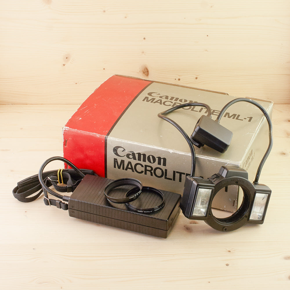 Canon Macrolite ML-1 Exc+ Boxed
