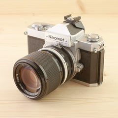 Nikomat FTn Chrome w/ 43-86mm f/3.5 Avg