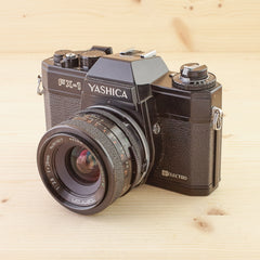 Yashica FX-1 w/ Tamron 28mm f/2.8 Exc
