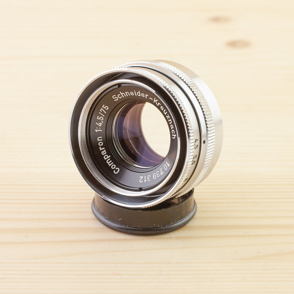 Schneider Enlarging 75mm f/4.5 Comparon Exc