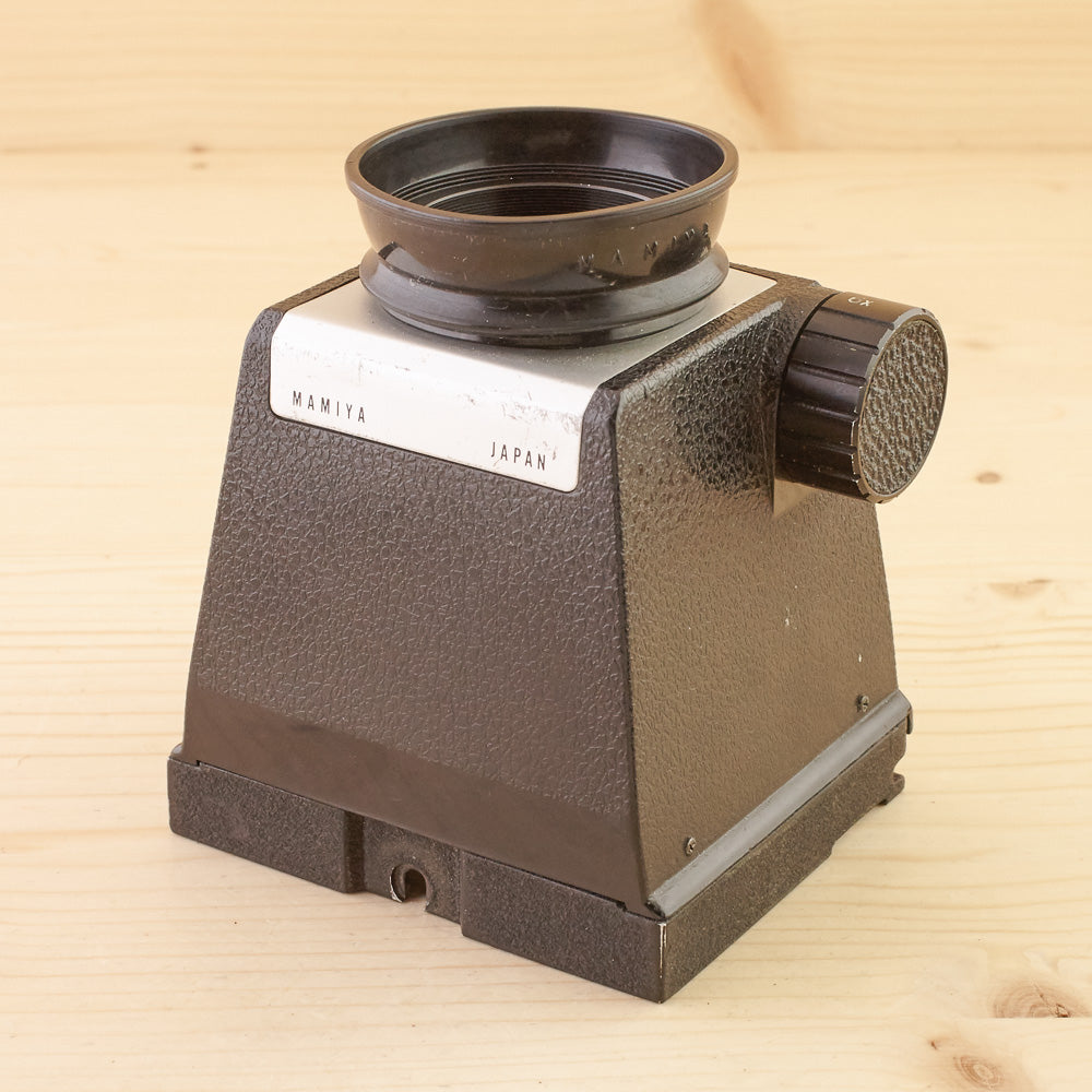 Mamiya TLR Chimney Finder Magnifier Exc
