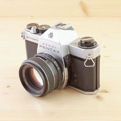 Pentax Spotmatic F w/ 55mm f/1.8 Exc