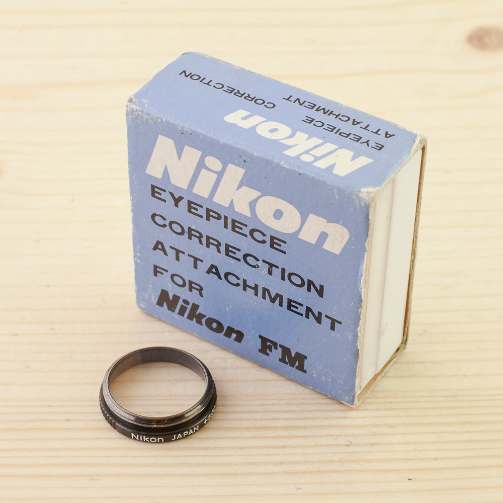 Nikon -4.0 Eyepiece Correction Attachment For Nikon FM Exc+
