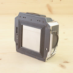 Bronica S 120 Back Chrome Exc