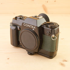 Contax 137MA Quartz Body Only Green Exc