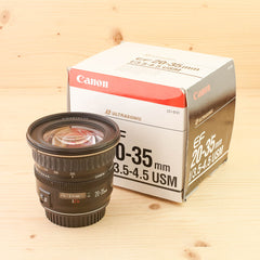Canon EF 20-35mm f/3.5-4.5 USM Exc Boxed
