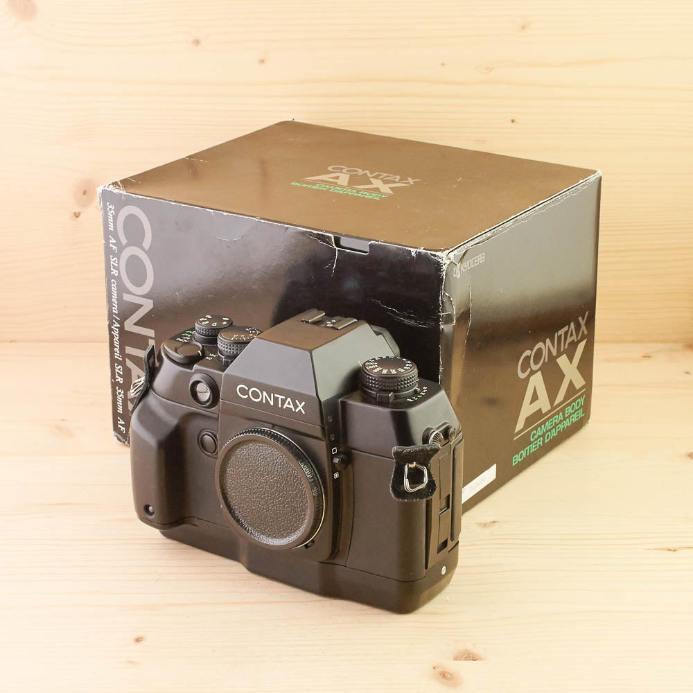 Contax AX Body Exc+ Boxed
