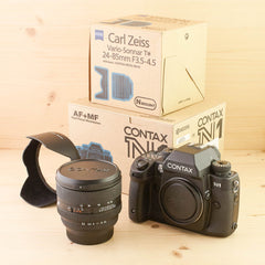 Contax N1 w/ 24-85mm f/3.5-4.5 Exc+ Boxed