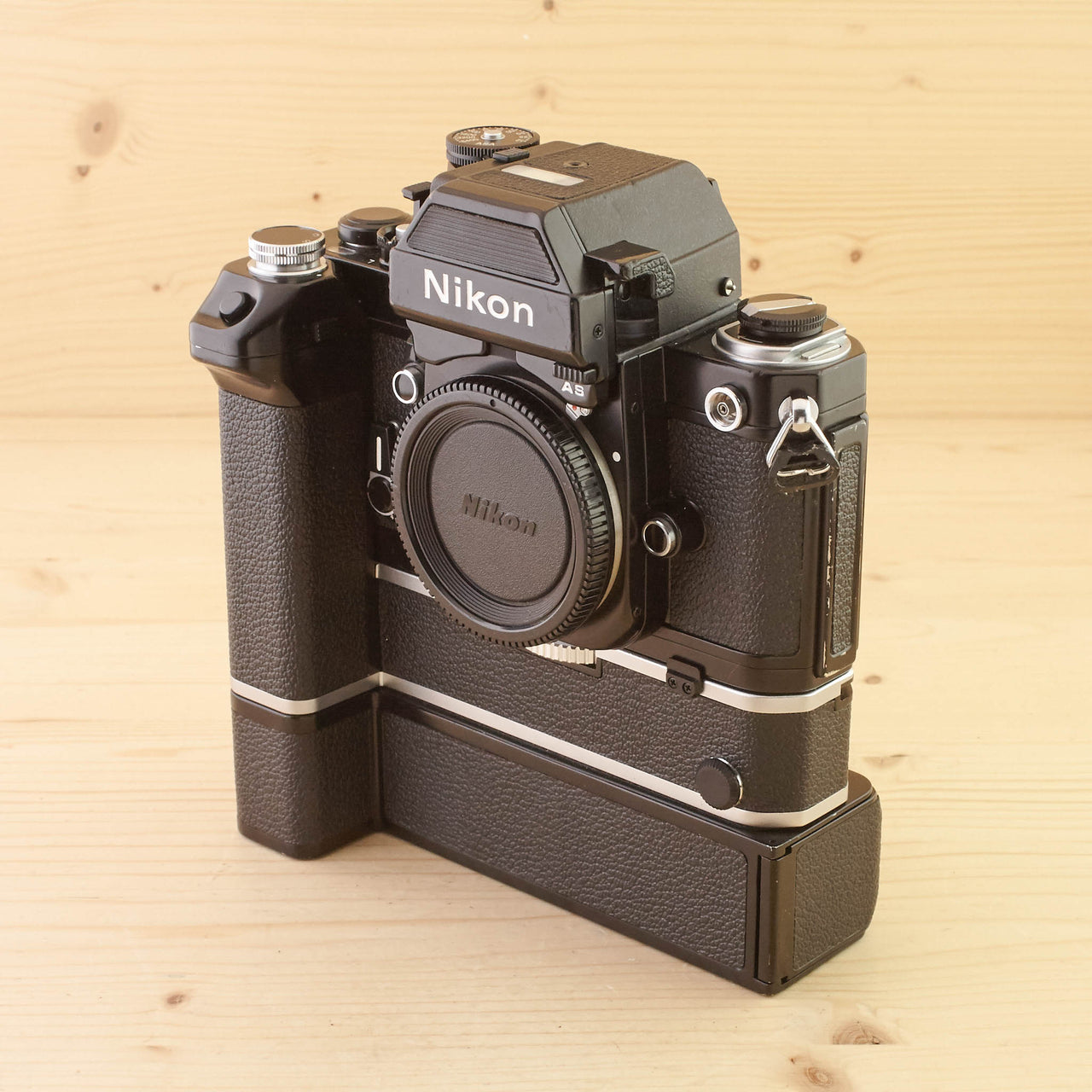 Nikon F2AS DATA w/ MD-2 and MB-1 Exc+