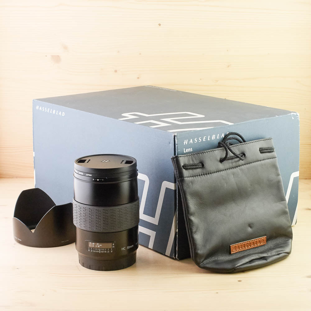 Hasselblad HC 50mm f/3.5 Mint- Boxed