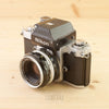 Nikon F2 Photomic Chrome w/ 50mm f/2 Exc