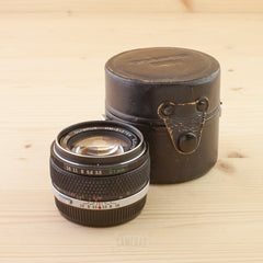 Olympus OM 21mm f/3.5 Exc+ in Case