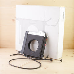4x5 Sinar Automatic Shutter w/ Cable Exc Boxed