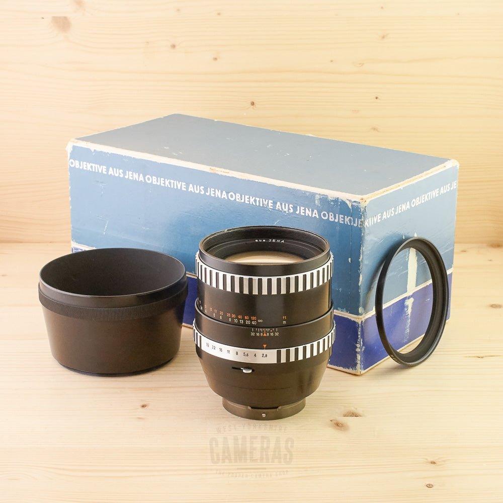 Pentacon Six Fit Zeiss 180mm f/2.8 Zebra Exc+ Boxed