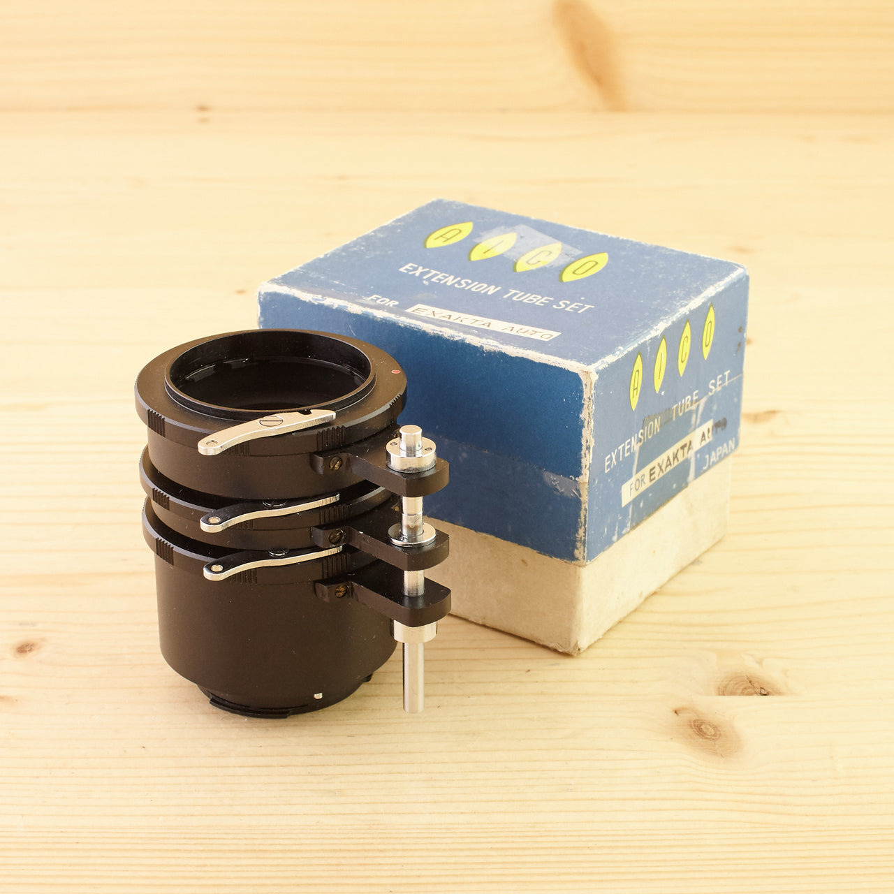 Exakta Fit Aico Auto Extension Tube Set Exc Boxed