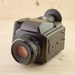 Pentax 645 w/ 75mm f/2.8 Exc - West Yorkshire Cameras