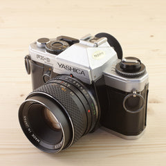Yashica FX-D Quartz w/ 50mm f/1.9 Exc - West Yorkshire Cameras